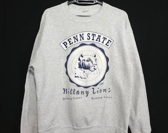 Rare!! Vintage 90's PENN STATE University Sweatshirt Sweater Crewneck Small Size on tag FlQvY