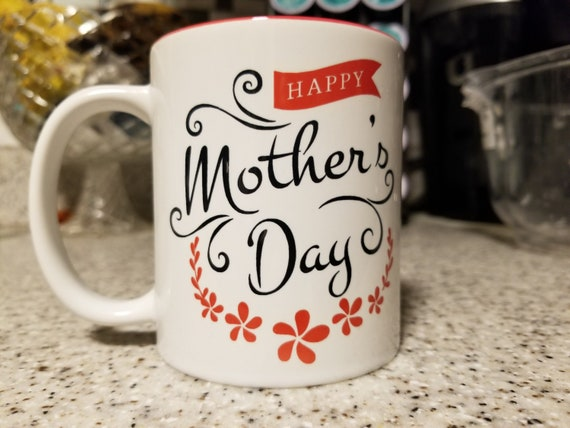 Happy Mother's Day Custom 11oz Coffe Mug