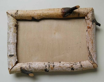 "4"" X 6"" Natural Birch Limb Frame (ID #4X6B1)"