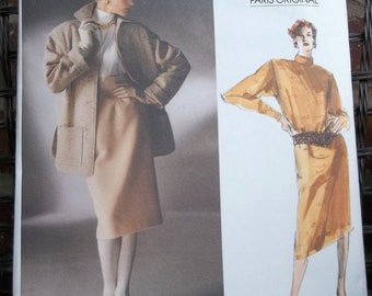 Christian Dior Vogue Paris Original Pattern 1638 Size 16 Jacket Dress Top Skirt
