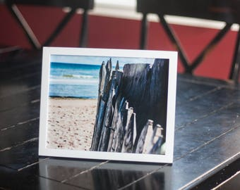 Framed Beach Photo in France