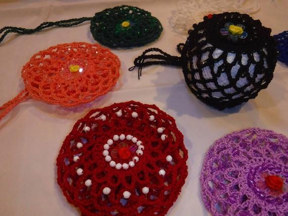 8 Farben Ballett Dutt Abdeckung mit Perlen...