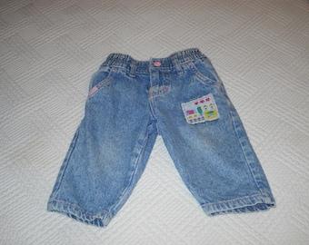 Vintage baby Lee jeans - 12 months