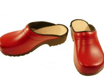 Soft Clogs red