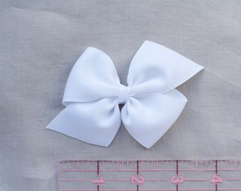 "3"" Large Pinwheel Bow - White"