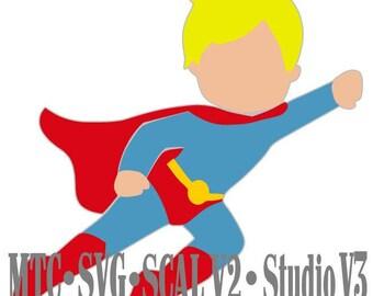 Super Hero 02 Cut Files MTC SVG SCAL v2 Silhouette Cricut