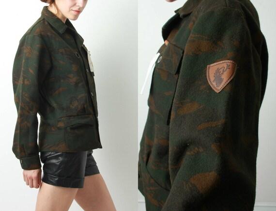 Parka Military Parka Military Parka Blazer Hunting Sasta Camouflage Man Parka Parka Parka Parka Hiking Blazer Camo Wool Fqv8StW