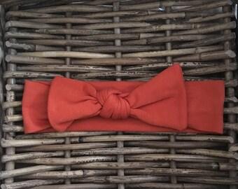 Rust Organic Fabric Hairband