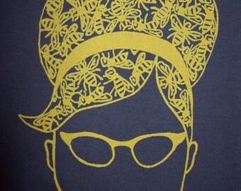 Women's Beehive Hairdo t-shirt