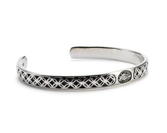 Virgin Mary Bangle Bracelet