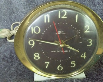 Vintage Ben Electric WESTCLOX Alarm Clock