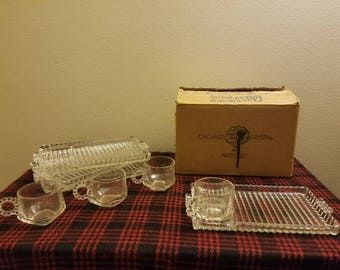 Orchard crystal party set