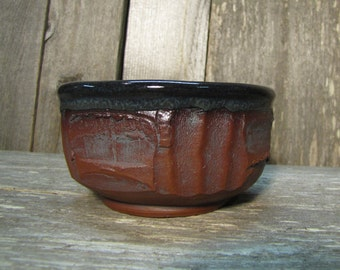 Black bowl red Idaho clay