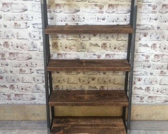 Handmade Industrial Style Shelving Unit
