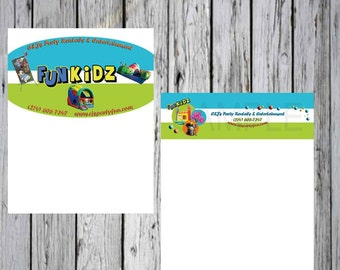 Custom Letter Head for your Personal  or Your Business