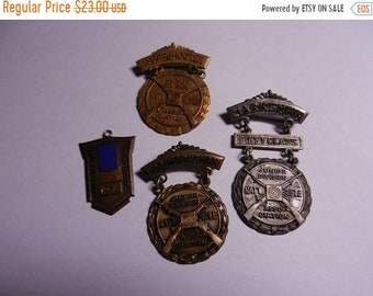 3 Day Spring Clearance 4 Vintage National Rifle Association Marksman medals