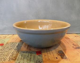 Vintage Denby Stoneware Kitchen mixing bowl - stoneware bowl Kitchenalia