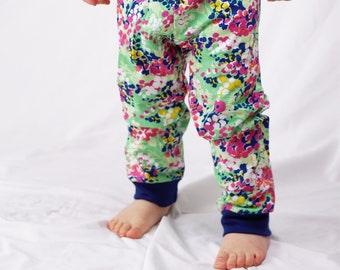 Jogger Pants, Baby Girl Pants, Floral Joggers, Girl Clothing, Baby Pants, Toddler Clothes, Infant Pants, Infant Clothing, Sizes NB-3T