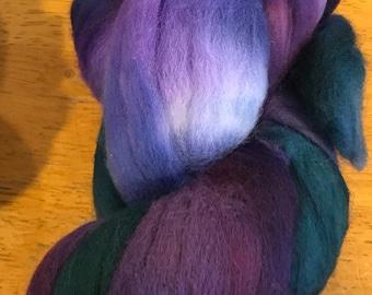 Wild Iris Merino Spinning Fiber 4 oz