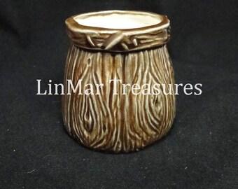 Ceramic Wooden Barrel