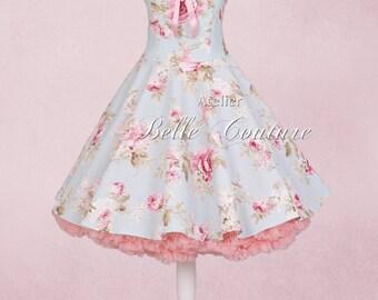 "Bridesmaid dress ""Pretty Roses IV"" Petticoat style"