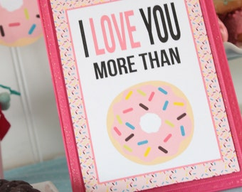 Donut Forget to Drink Your Milk table sign | Instant Download | Party Sign | Printable