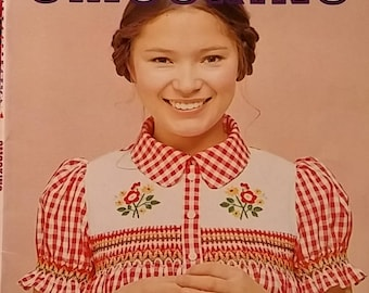 Ondori Handcraft Collection~Smocking 1975 Japan Clothing Accessories Instructions