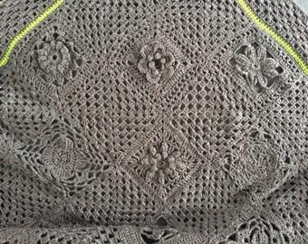Crochet blanket, crochet blanket, granny squares, Omaviereck