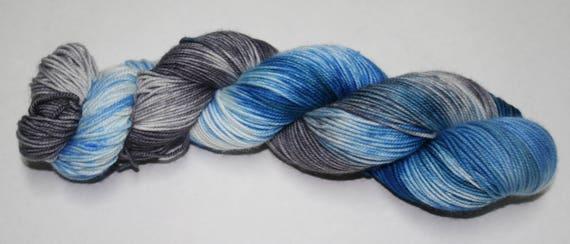 Ready to Ship - Fergus Hand Dyed Sock Yarn - Soft Sock