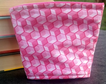 Pink Steps Cozy to Go Cup Wrap