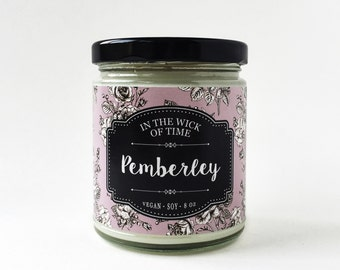 Pemberley | Pride and Prejudice Scented Vegan Soy Candle |