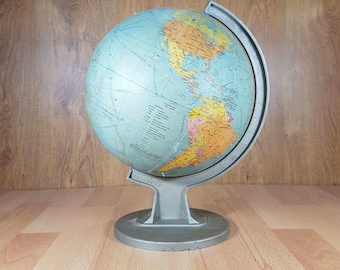 Etonnant Vintage Globe   Old Globe   Maps   Big World Globe   Desk Globe   Home
