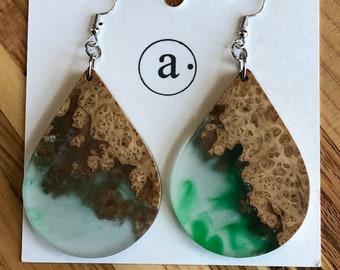 Beidal shower gift, teardrop earring, gift for her, birthday gift, unique gift medium