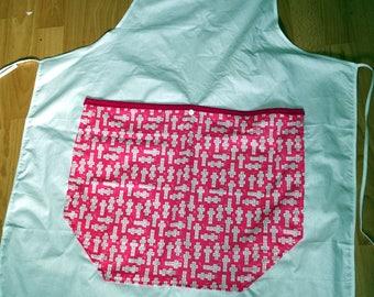 apron Pocket hopscotch pattern