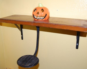 Repurposed Vintage Horseless Carriage Buggy Step Bleacher Shelf