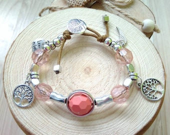50 style bracelet Boho Tree of Life model