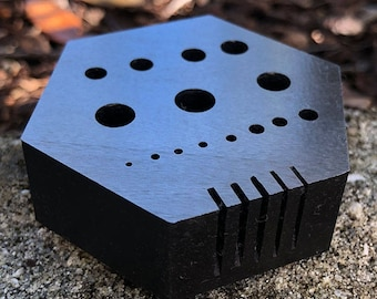Hex Anvil for Riveting and Staking  (AN200)
