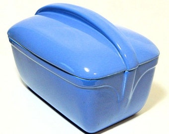 Hall China Blue Refrigerator Dish Westinghouse