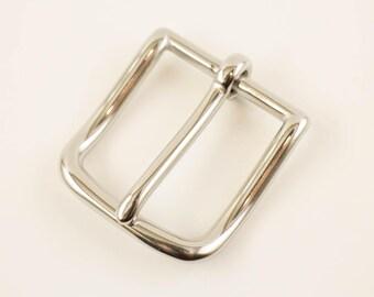 "Belt Buckle 1 1/4"", Stainless Steel"