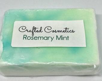 Rosemary Mint Goats Milk Bar Soap