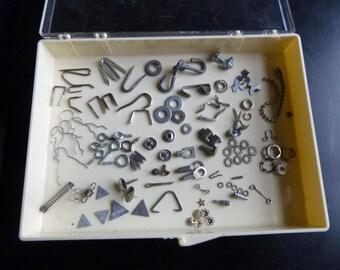 Vintage Metal Hardware Small Steampunk Altered Art Supplies Destash