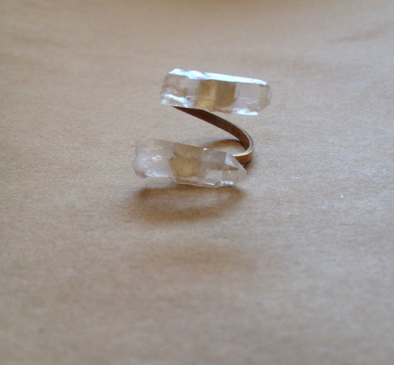 The Crystal Duo Ring