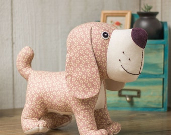 Stuffed animal - Standing Puppy Dog | PDF Sewing patterns & Tutorials | fabric toys | instant download |Gift ideas | Softies
