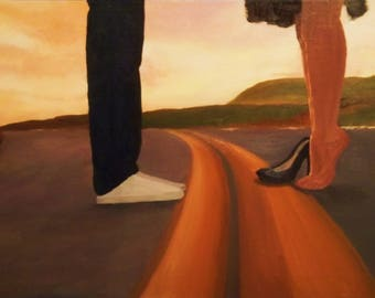Convergence Oil Painting