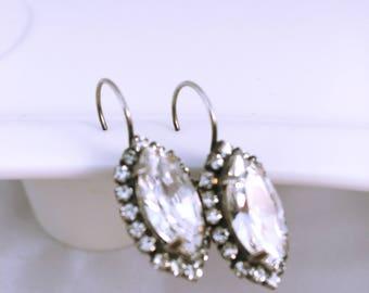 Wedding earrings / Wedding earrings / rhinestone / Crystal