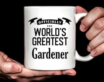 Gardener Gift | Best Gardener Mug | Gift for Gardener | World's Greatest Gardener Coffee Mug