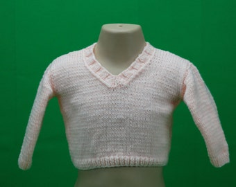 Pink jumper for 6-12 month old baby