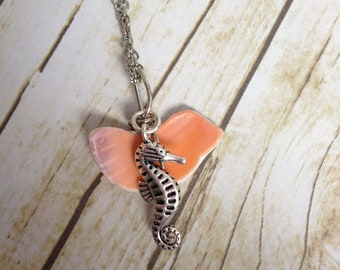 Seahorse and Shell Necklace