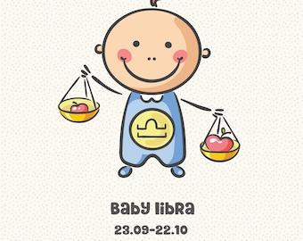 Baby Zodiac Libra
