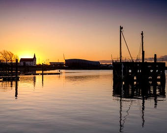 Cardiff Bay sunrise